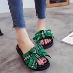 【shoes】サンダルシンプルカジュアルスリッパ合わせやすい