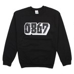 0867 / Sweatshirt / Blockbuster / Logo / Black