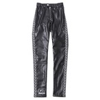 【SILLENT FROM ME】 HOOKY -Legging Pants- BLACK