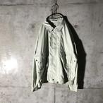 [used] light blue poly jacket