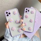 Daisy purple flower iphone case