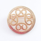 circle design brooch[b-158]