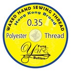 0.35 Yue Fung wax Polyester cord thread