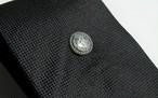 SV [15mm]織田木瓜タイタック【いぶし仕上げ】