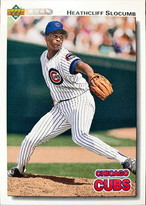 MLBカード 92UPPERDECK Heathcliff Slocumb #569 CUBS
