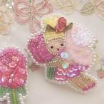 【3/31 21:00】お花の妖精さん バラ 2wayバッグチャーム