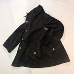 40's Sweden army field jacket black color
