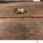 Rainbow Labradorite Gold Ring
