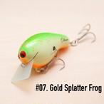 BRISKY LURES / Oliver / #07. Gold Splatter Frog