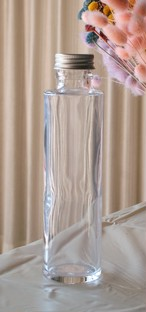 円柱 ストレート 150ml 来店大歓迎!送料返金します! ハーバリウム瓶 円柱 ストレート 150ml 【10本】 キャップ付き