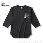 ブルテリア ベースボールTシャツ スミ黒