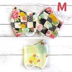 【おおやまとみこ】立体布マスク(和花)・レディースサイズ/マスク