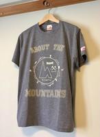 hs-05『ACTIVE』 hunt オリジナルカレッジロゴTシャツ ・ヘザーグレー