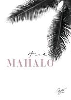 MAHALOVE 作品名: Mahalo pink  A4ポスターアルミフレームセット【商品コード: ml-mahalo pink 】