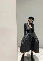 cdgキルティングワンピース キルティングワンピース ワンピース 韓国ファッション