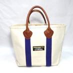 90's L.L.BEAN Leather Handle BOAT & TOTE (エルエルビーン レザーハンドル ボートアンドトート)