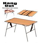 HangOut (ハングアウト) Crank Multi Table クランク マルチ テーブル アウトドア 用品 キャンプ グッズ テント ファニチャー サイト 組み合わせ 重ねて 使える 家具 木製 ナチュラル ソロ 家族 ファミリー