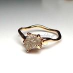 ダイアモンド原石リング ダイアモンド 1.33ct
