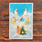 Antique christmas postcard Zalig Kerstfeest