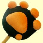 ねこきゅう肩たたき棒「ねことん」(黒)【猫雑貨 猫柄】