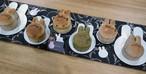ちびうさ食パンセット(プレミアム、かぼちゃ、いちごマーブル、さつまいも)