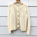 Fisherman  Wool Cardigan
