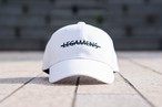 simple logo cap / white