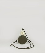 DODO COIN NECKLACE_WALLET ROUND_OLIVE GREEN