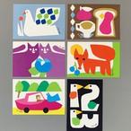 ポストカード(2020年12月 新柄6種)
