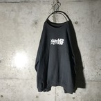 [stussy]pop logo printed sweat