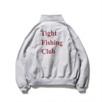 TIGHTBOOTH  CHAOS FISHING CLUB  FISHING SNAP SWEAT Grey