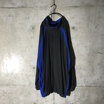 [used] king size blue lined jacket