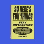 [SY-88]「FUN THINGS」キャンパスノート(方眼)