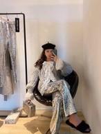 バレンレースフリルカーディガン カーディガン 韓国ファッション