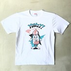 WC johnny × YONZY MILKY BOYS Tシャツ ホワイト
