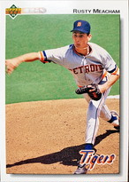 MLBカード 92UPPERDECK Rusty Meacham #453 TIGERS