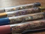 BlueShell「石垣島の星砂入りボールペン」