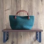 ◆**M.Yさま専用**◆チェンマイ オリジナルチャームつき手編みミニバッグ