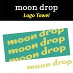 moon drop Logo Towel