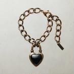 Never End Bracelet Gold/Black ♯0103 ネバー・エンド ブレスレット  ゴールド/黒