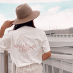 LOCAL LEGEND Tee - Vanilla white