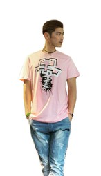 【JTB】NEW LOGO Tシャツ【ピンク】【新作】イタリアンウェア【送料無料】《M&W》