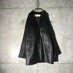 [BALMAIN] sheep genuine leather
