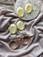 pale yellow × clear × light brown ring 《再販なし》