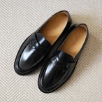 【libenis × MARSEE】Glass Leather Coin Loafer 【受注生産】【9/下旬〜10/上旬発送予定】