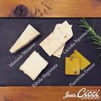 イタリア産 プレミアム チーズ アソート N'1  4種セット 約100g 通販 限定商品  モンタージオ・メッザーノ DOP / カチョッタ・ペペロンチーノ / ロビオーラ・スタジオナータ DOP / ピアチェンティーヌ・エンネーゼ