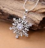 【小物】チタン鋼不規則形シンプル星ネックレス