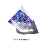 【星宿る大地】ベロニカオックスフォードのオルゴナイトキューブ