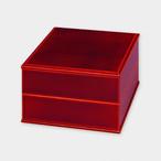 5.5寸二段重 紅(重箱)