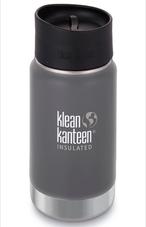 Klean Kanteen ワイドインスレートボトルカフェキャップ2.0 12oz グラナイトピーク